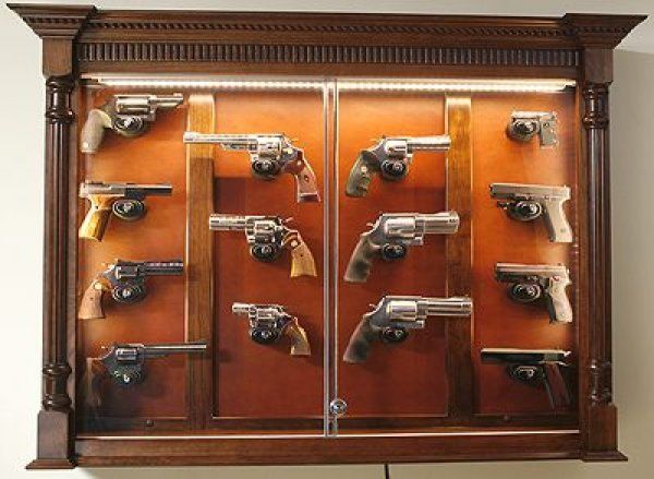 Firearms Display Cases My Study Antique Display