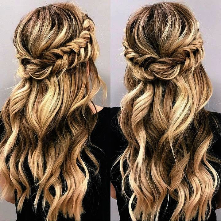 Simple Hairstyles For Weddings To Do Yourself: Looking For Half Up Half Down Hairstyles Here Are Stunning