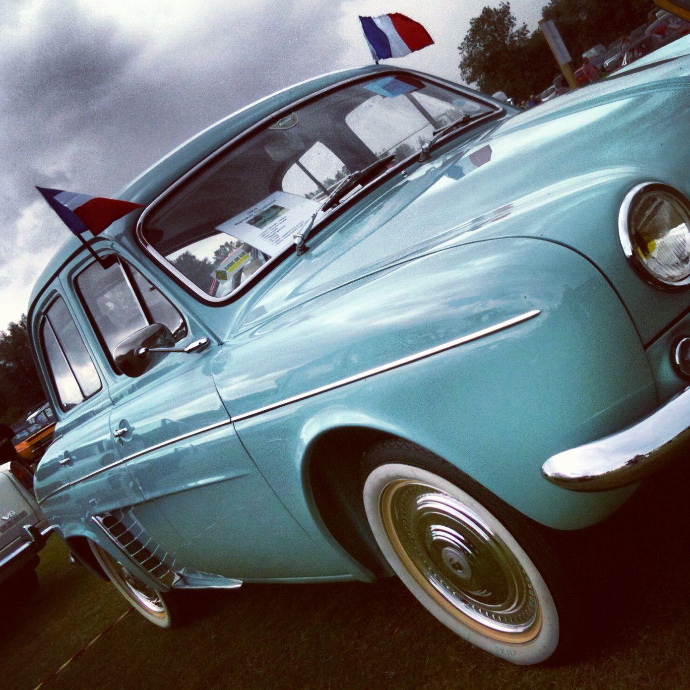 Renault Car Wallpaper: Superb Vintage #Renault #Dauphine - Love It!