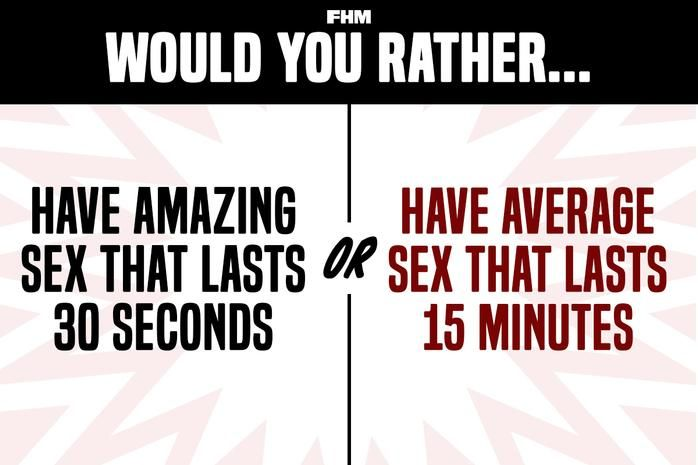 Freaky would you rather