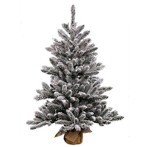 Vickerman Pine Artificial Christmas Tree with 172 PVC tips 50