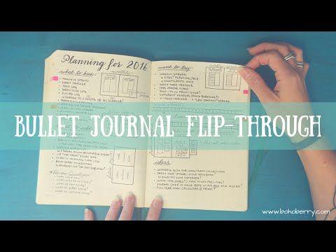 Bullet Journal Flip Through - YouTube