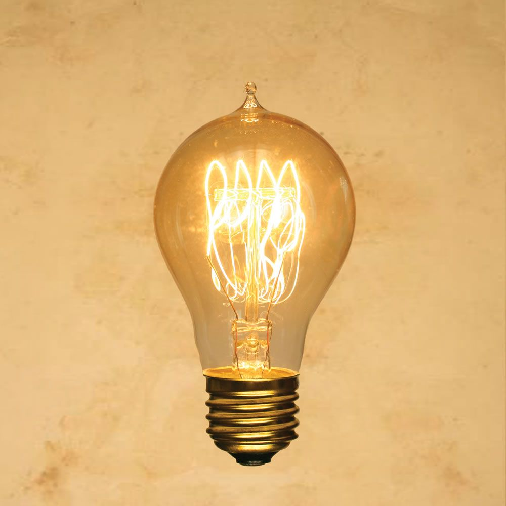25 Watt Incandescent A19 Vintage Edison