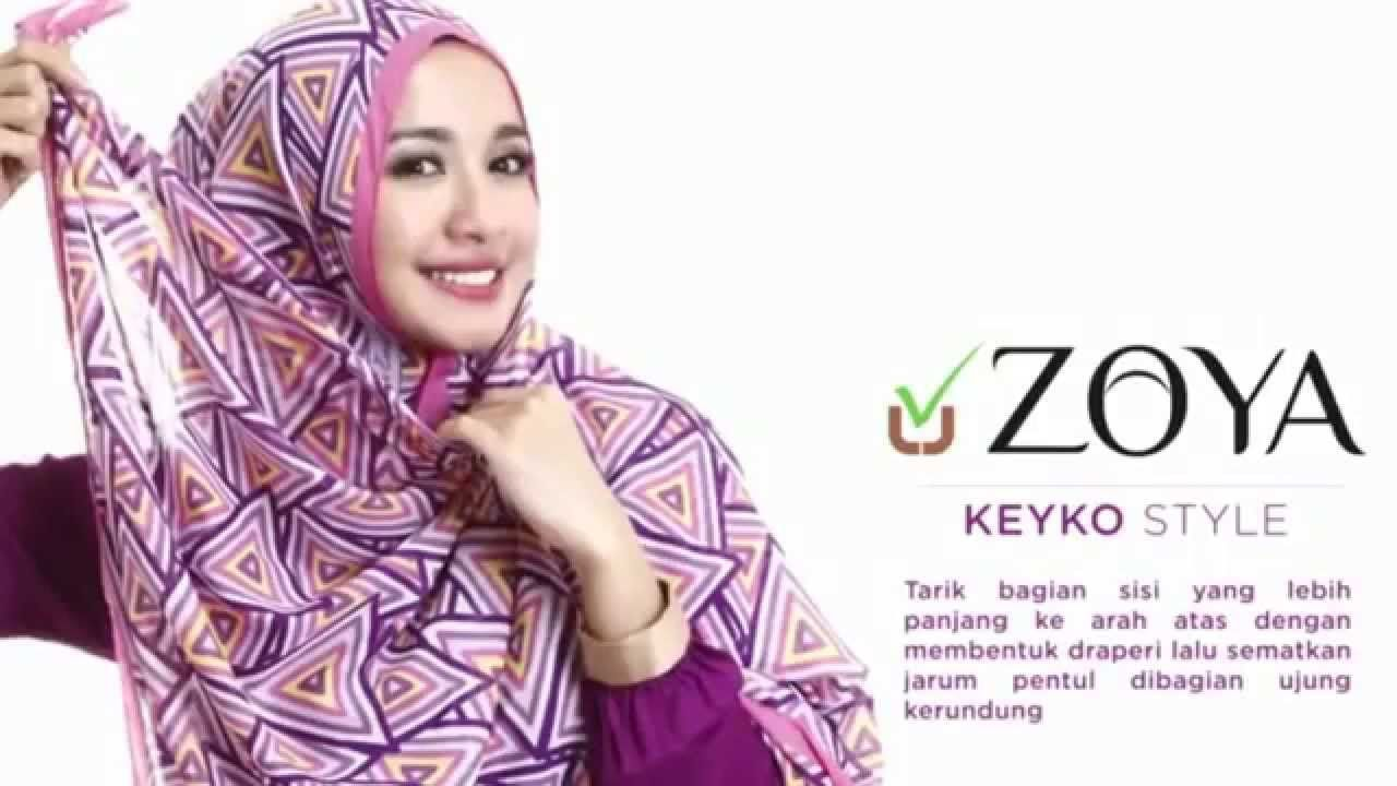 Zoya Hijab Pashmina Tutorial Simple Style Hm Pinterest Simple