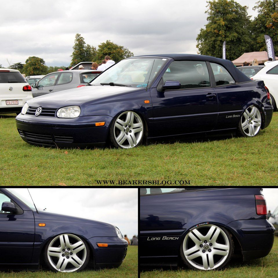 mk3 5 cabrio slammed on long beaches cars volkswagen. Black Bedroom Furniture Sets. Home Design Ideas