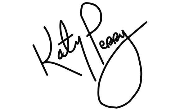 Descubra Como Sao Os Autografos Dos Famosos Katy Perry Famosos