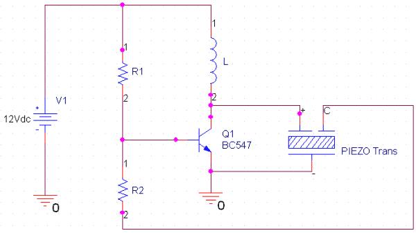 internal circuit of piezo buzzer vysielace pinterest circuits rh pinterest com