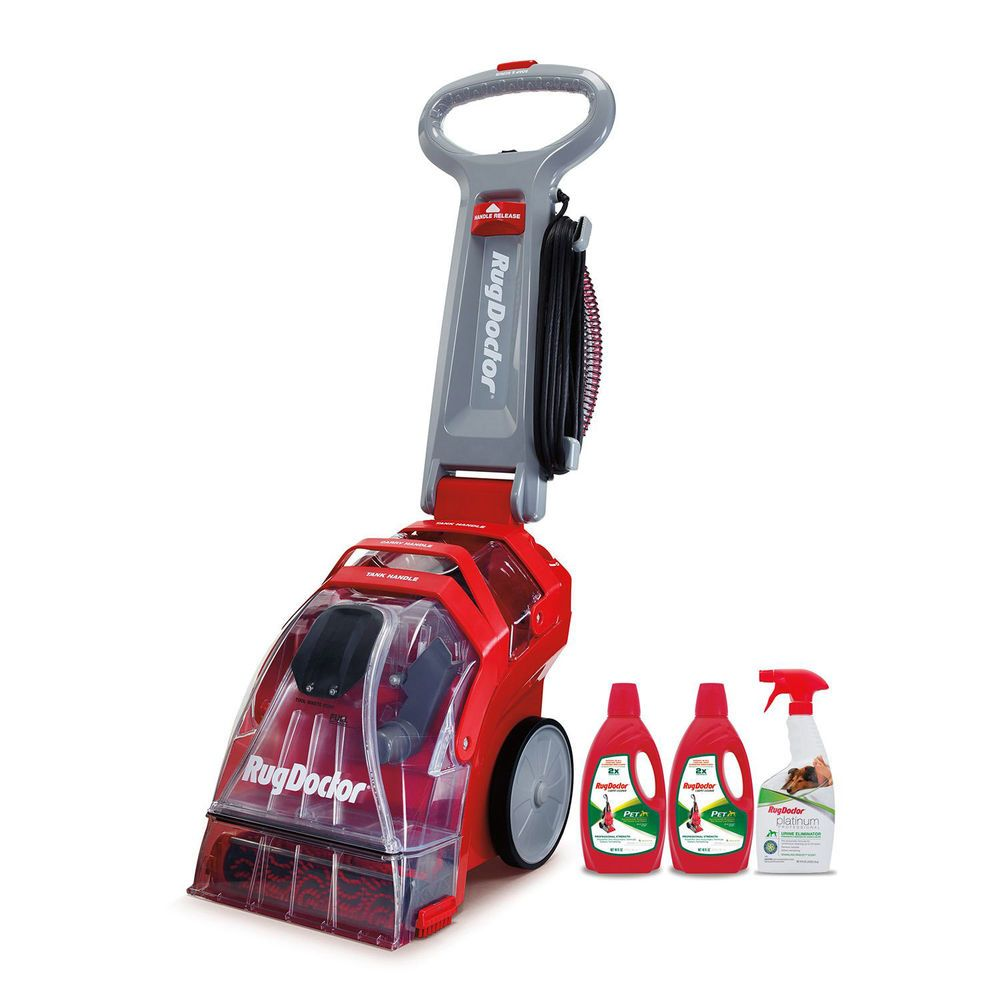 Rug Doctor Deep Carpet Cleaner Extractor Steam Scrub Area