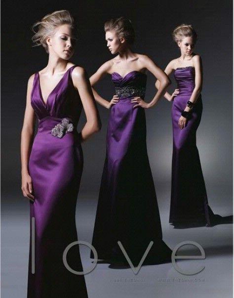 Purple Bridesmaid Dress | Bridesmaid Dresses | Pinterest | Boda