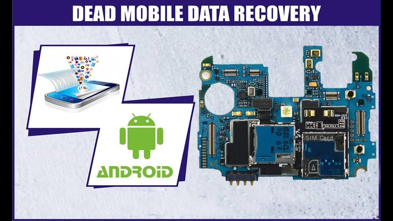 How To Recover Data From Dead Android Mobile Or Broken Screen With