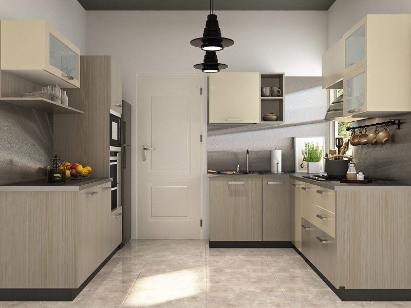 Zemlya U Shaped Modular Kitchen Designs