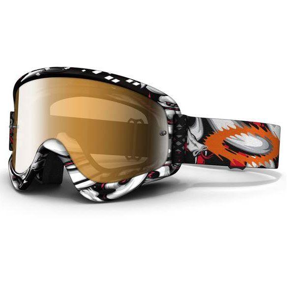 e330e9ed33b Oakley XS O-Frame MX Off Road Goggles - Troy Lee Designs Collection -  Medusa Clear Lens