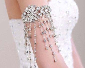 Pearl Clasp Bracelet Bridal bracelet prom by HoneyMCoutureBridal