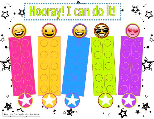 I can do it stars and smiles Potty Charts Pinterest - workout char template
