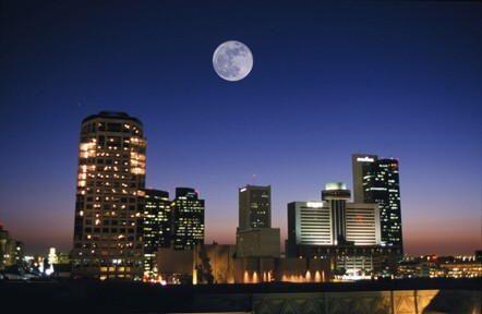 Arizona City At Night