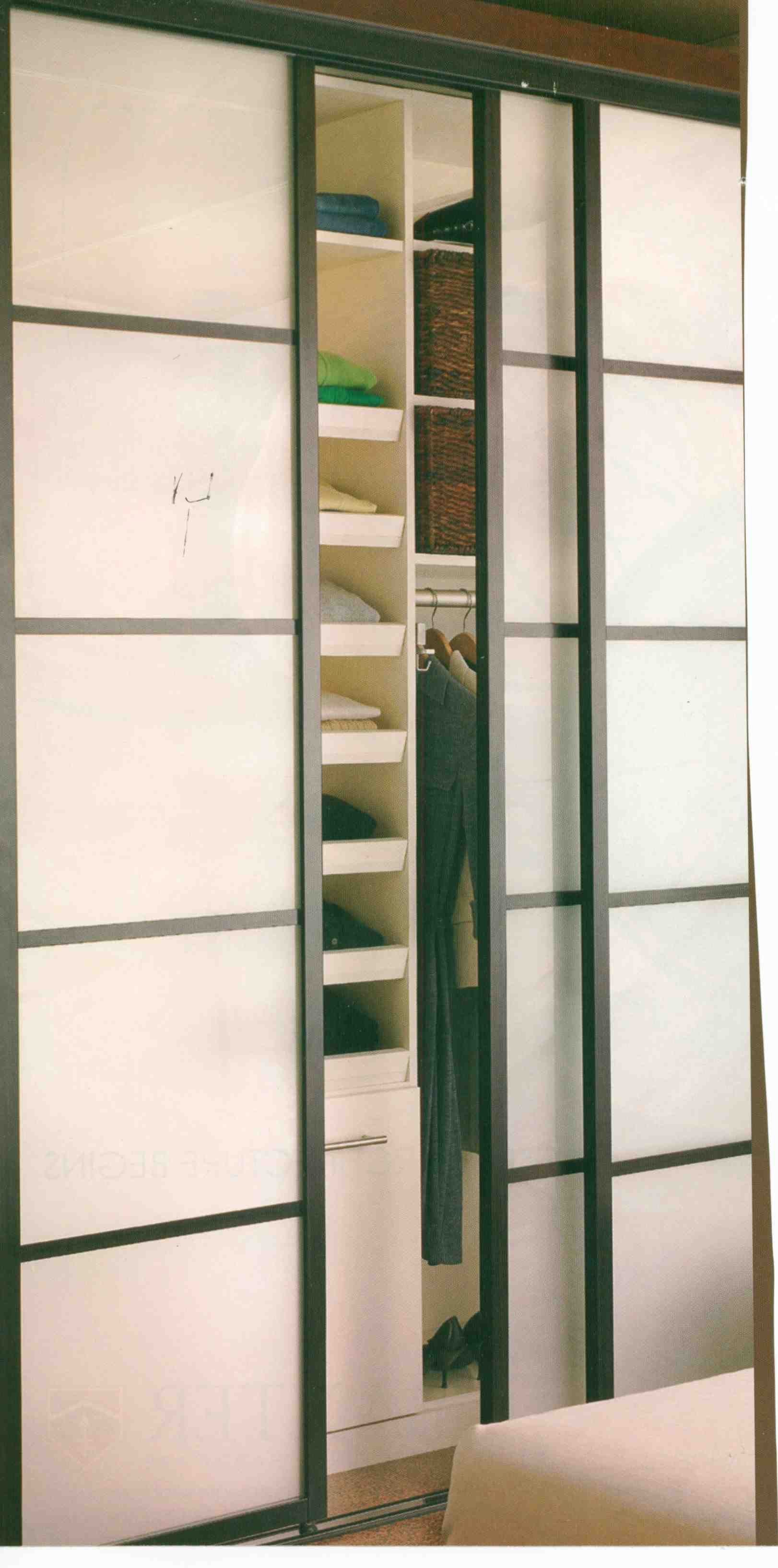 sliding closet doors if mirrored this could be a diy project use frosted contact