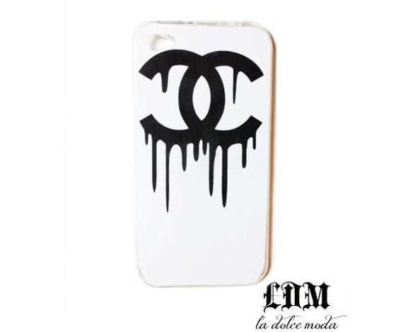 ee0f45467cb chanel CHANEL DRIP iPhone case iphone 4 iphone 4s iphone 5 trendy designer  case hard plastic