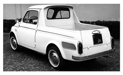 Fiat 500 Ziba Ghia 1962 Abarth Cinquecento Mini Trucks