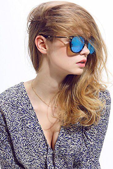 edaf3d4be9227 AmazonSmile  Diamond Candy Women s Sunglasses UV Protection Polarized eye  glasses Goggles UV400 43BG  Clothing