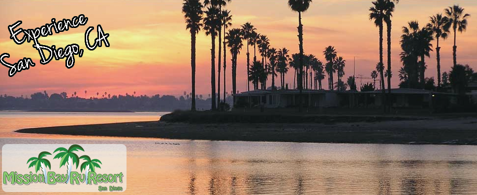 Mission Bay Rv Resort Awesome Views And So Close To So Many Awesome Things To Do Camping San Diego Rv Parks Camping World