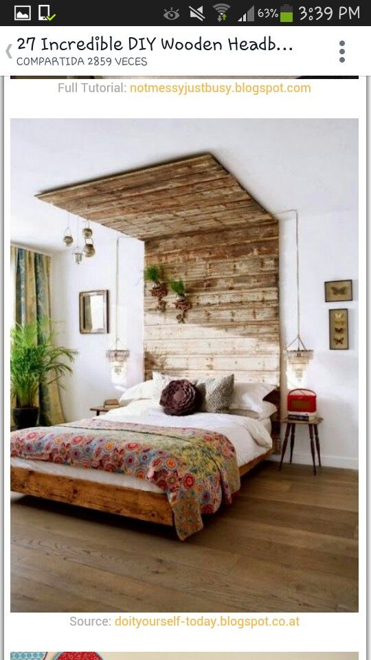 creative bed design ideas and unique furniture for bedroom decorating - Do It Yourself Kopfteil Designs
