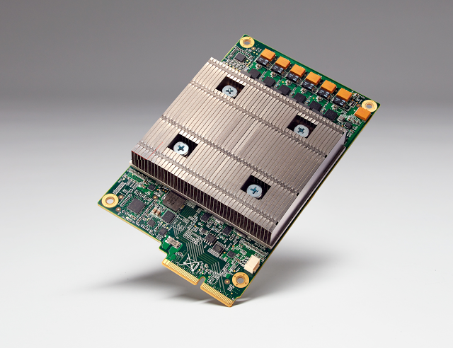 The Tensor Processing Unit (TPU) is a custom ASIC built