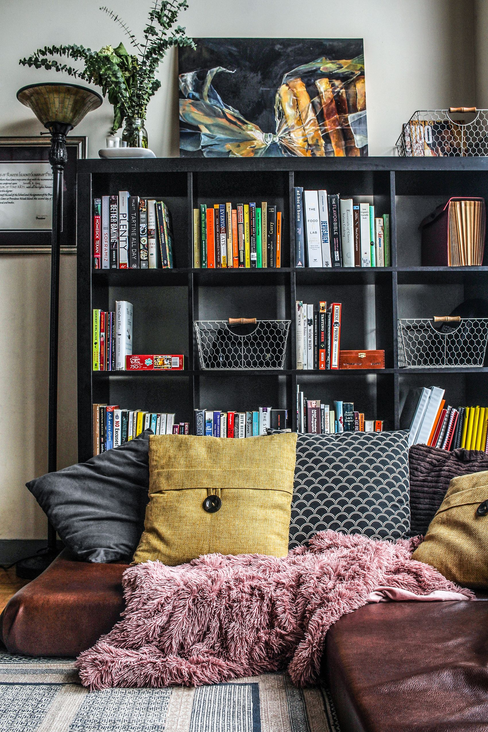 Ikea Home Office Library Ideas: A Boston Loft With A Small Footprint And A Lot Of Heart