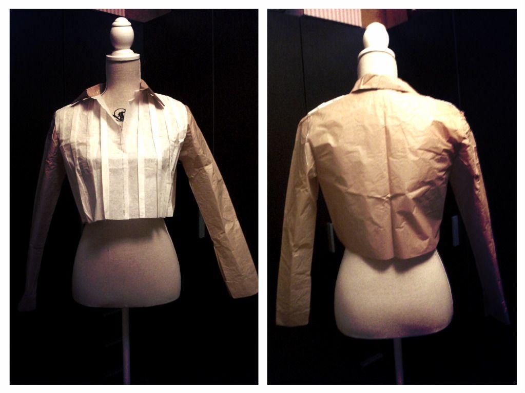 Blusa camisero cubierto de tablones.