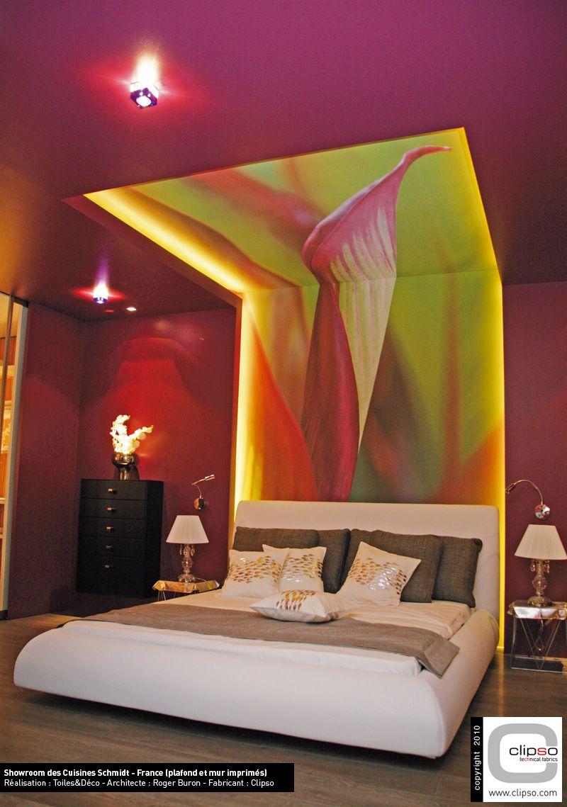 Elegant Clipso Print   Wand Und Deckengestaltung Im Schlafbereich / Schlafzimmer