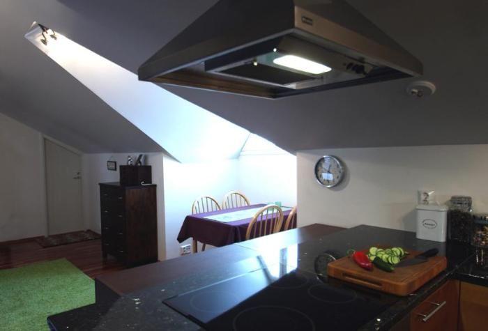 Loft apartment in Mikkeli.