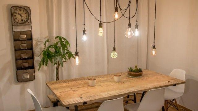 Lampe DIY Stil Do it yourself Glühbirne Diy lampen