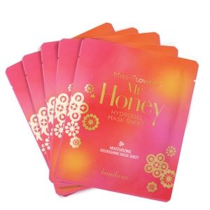 Banila Co Miss Flower Mr Honey Hydrogel Mask Sheet 5ea Set