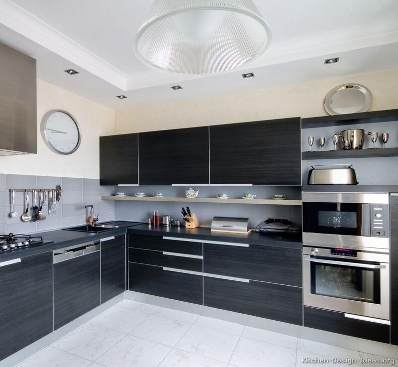 Kitchen Idea Of The Day Modern Black Kitchens Modern Black