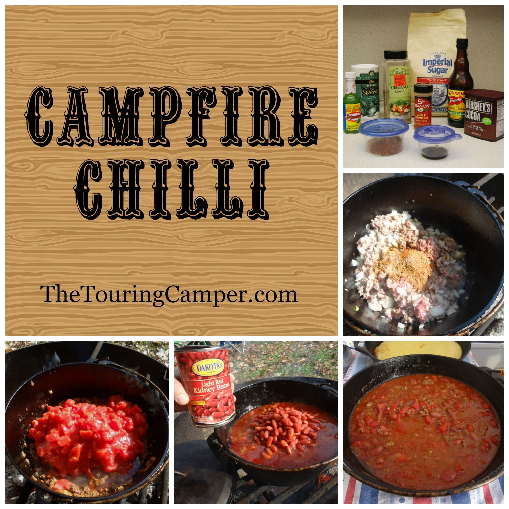 10 Camping Recipes And Ideas For Cooking Around The Campfire: Share Campfire Cooking Ideas