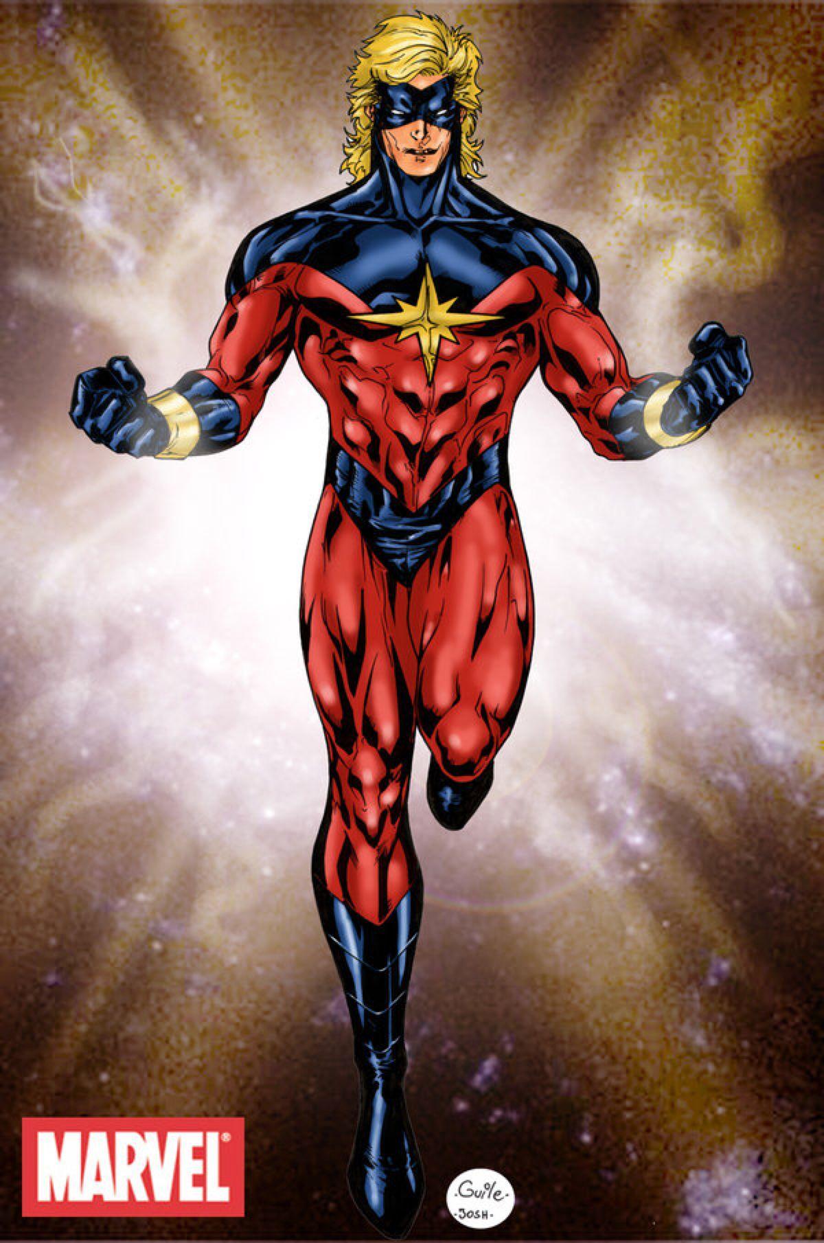 Captain Mar Vell color version by SpiderGuile on DeviantArt ...