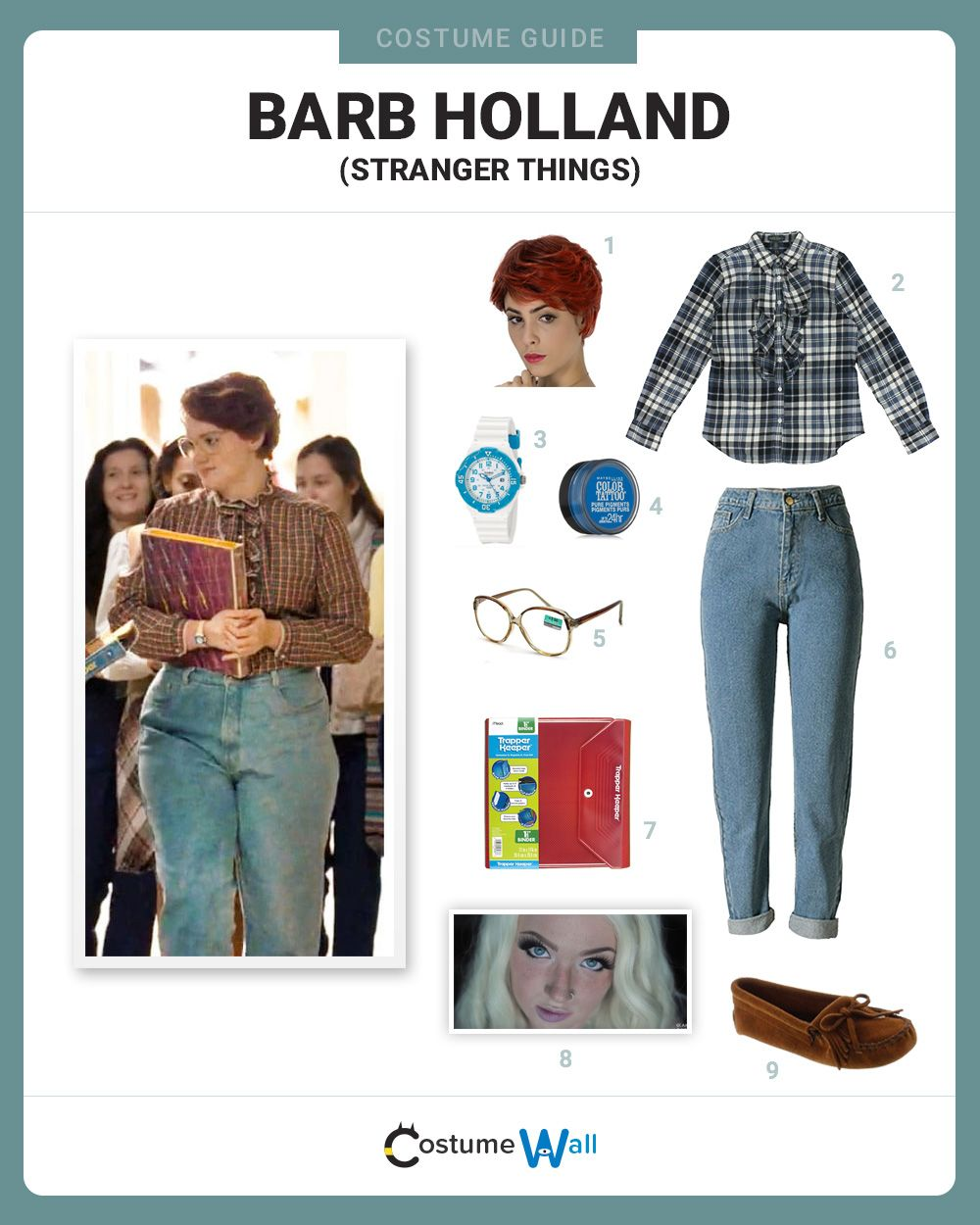 dress like barb holland  netflix tv strange things and