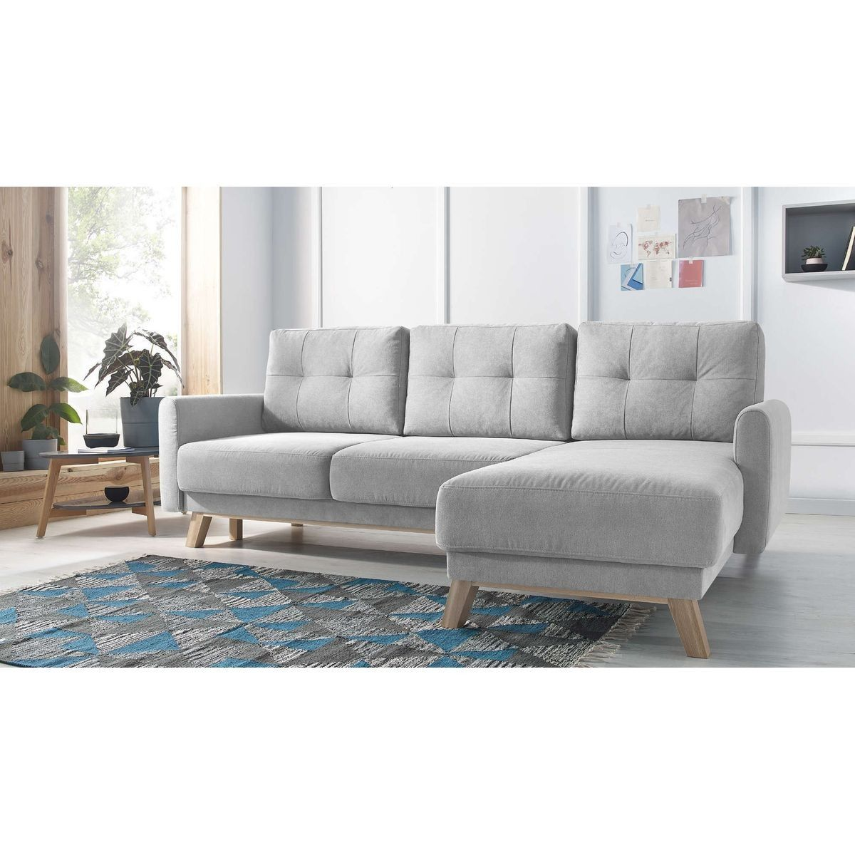 Groupon Canape D'angle Pas Cher Canapé D Angle Droit Convertible Balio Products Sofa