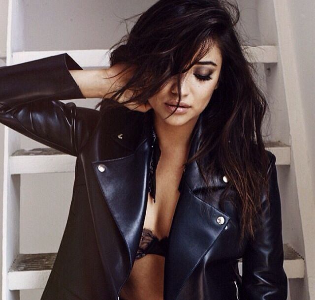 Shay Mitchell makes me want this jacket!