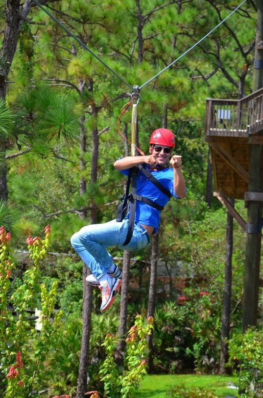 Experience the Exhilarating: Ziplining in Kissimmee - Kissimmee Florida Vacations - Experience Kissimmee - Family Travel & Tourism