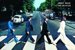 The Beatles - Abbey Road Poster