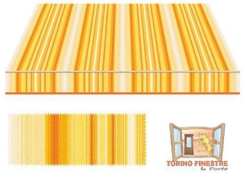 Tessuti Tempotest in Acrilico Rossi e Marroni Tende