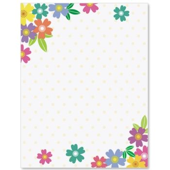 Wild Flowers Border Papers Caratulas Pinterest Borders For