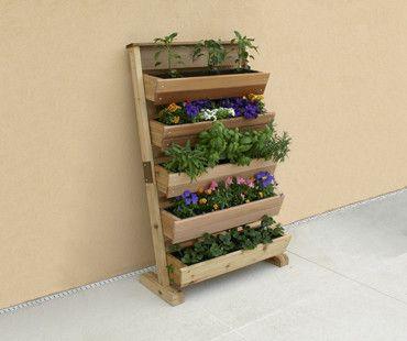 vertical garden kit wall mount or free standing garden ideas gardening