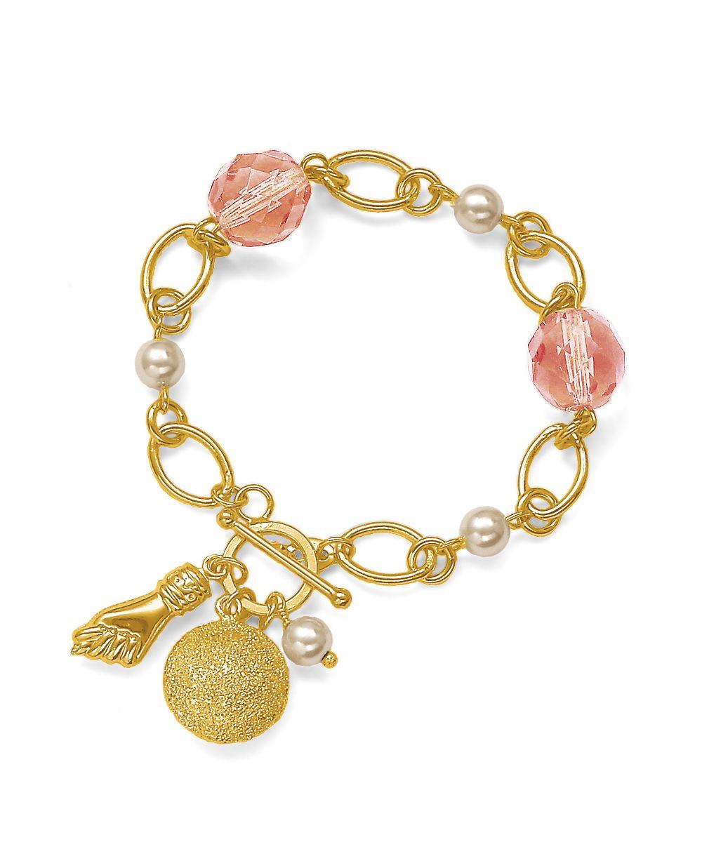Linda Pulseira Coral Folheada a Ouro! Confira - Desfilar.com http://www.desfilar.com.br/pulseira-coral-folheada-a-ouro,product,1255681314,dept,343.aspx
