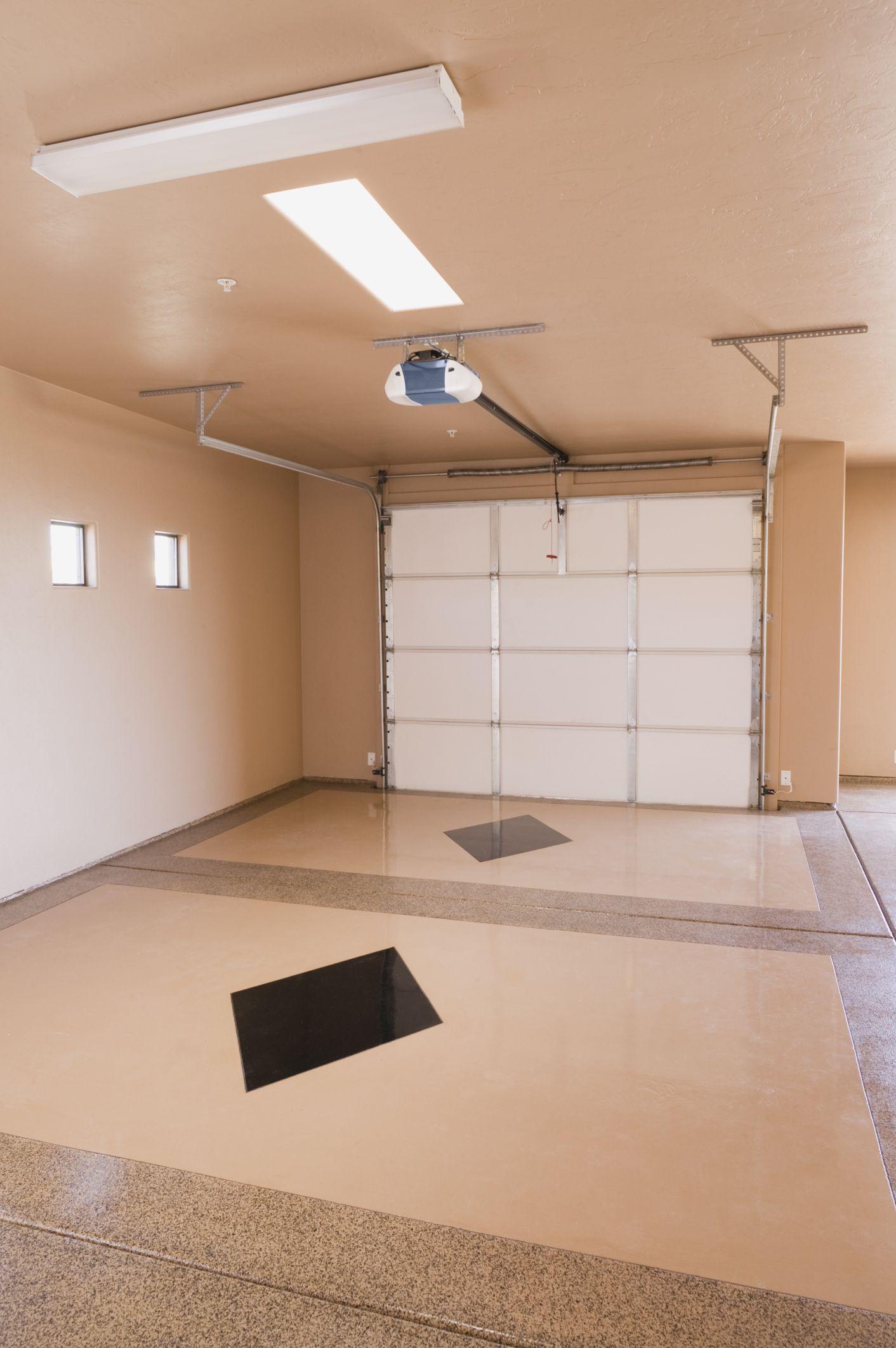 How To Paint Garage Walls Painted Garage Walls Garage Interior Garage Doors
