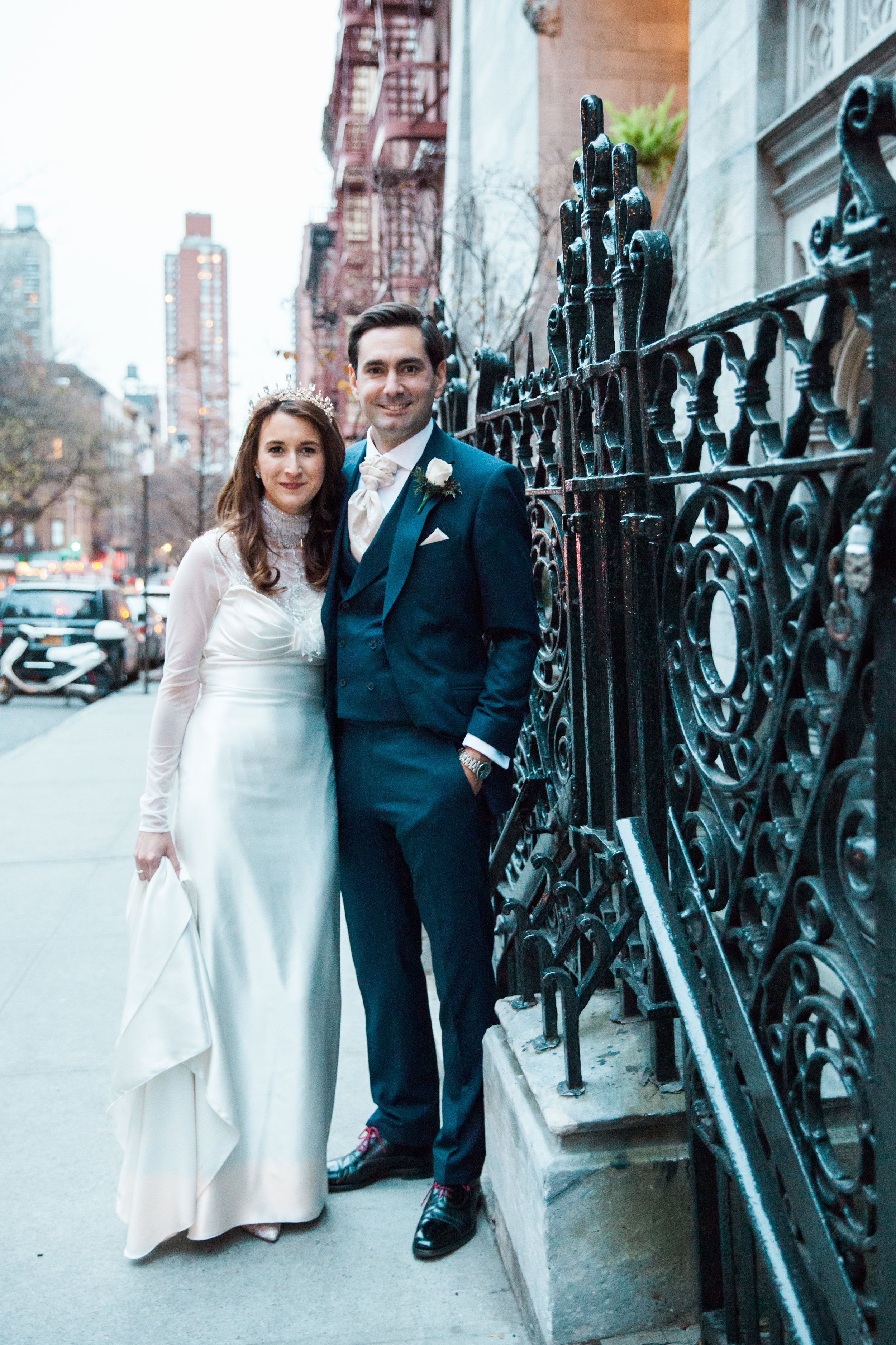 Catholic wedding dresses  Catholic Art Deco Wedding New York City Upper East Side  Catholic