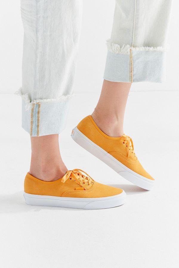 Suede sneakers, Vans authentic