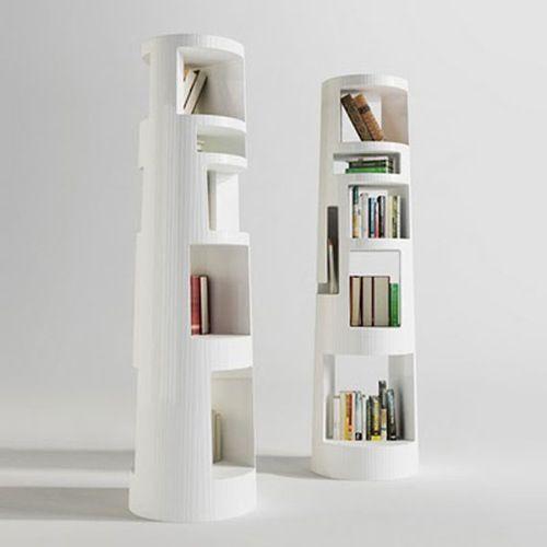 Babel Tower Bookshelf Unique Bookshelves Creative Bookcases Cool Bookshelves