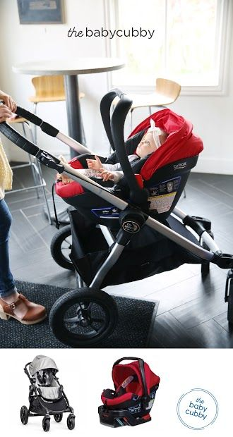Britax B Safe Ultra Infant Car Seat Buckle Up Baby Baby Jogger
