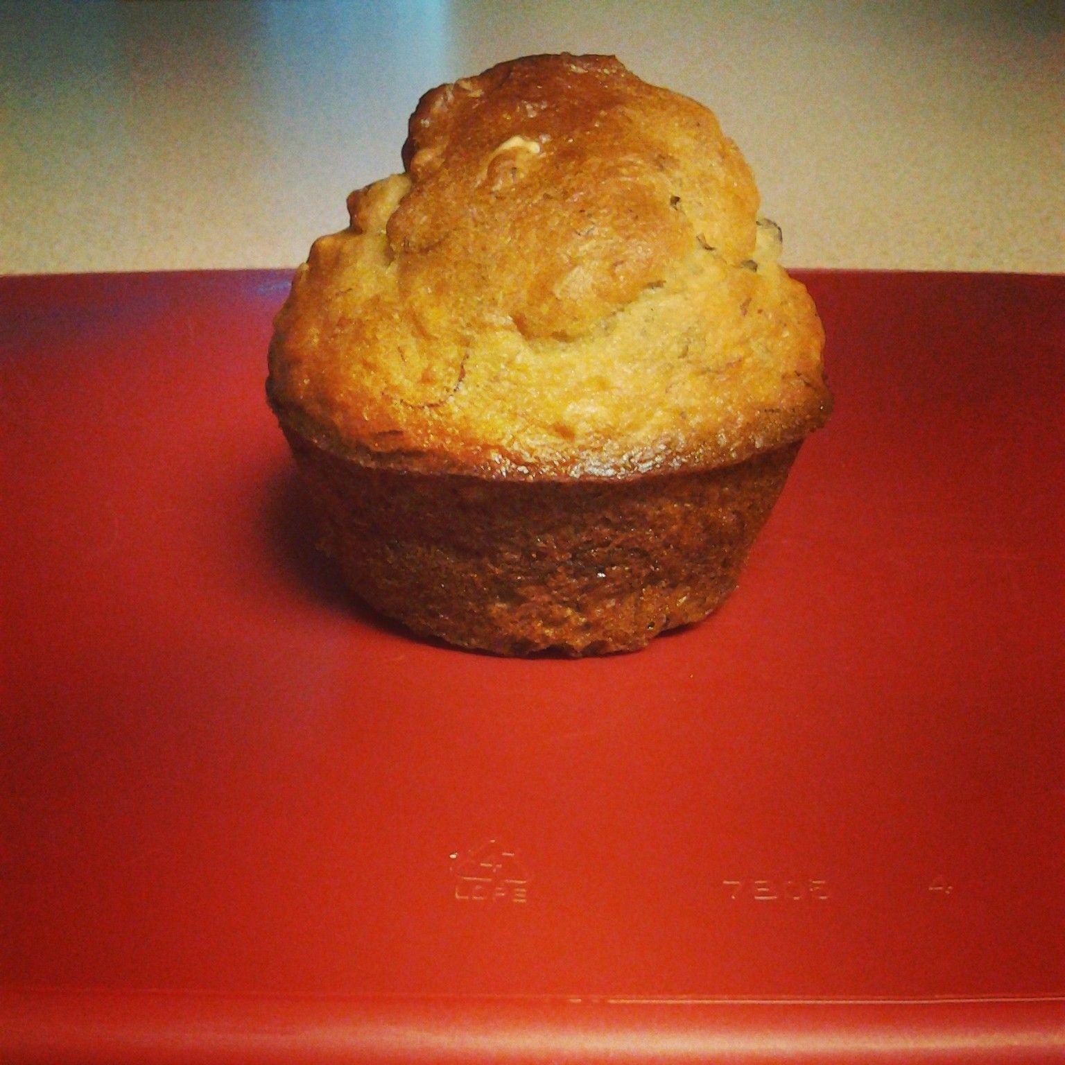 Banana Oat Muffins on MyRecipeMagic.com